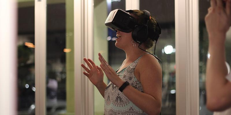 ATLvr is a virtual reality consulting firm in Atlanta. It hosts monthly meet-ups for virtual reality developers and enthusiasts.