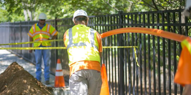 In the first quarter of this year, compared to last year, the utility company Atlanta Gas Light says there has been a 67 percent increase in reports of damaged natural gas lines in its service areas.