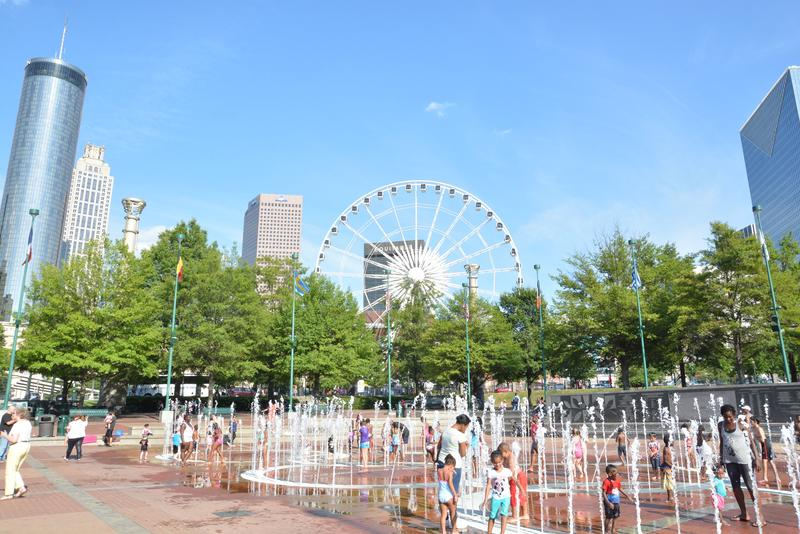 Centennial Olympic Park has become the centerpiece for resurgence of tourism in the city, according to William Pate, president of the Atlanta Convention and Visitors Bureau.
