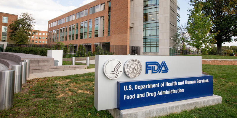 This Oct. 14, 2015, file photo, shows the Food & Drug Administration campus in Silver Spring, Md.