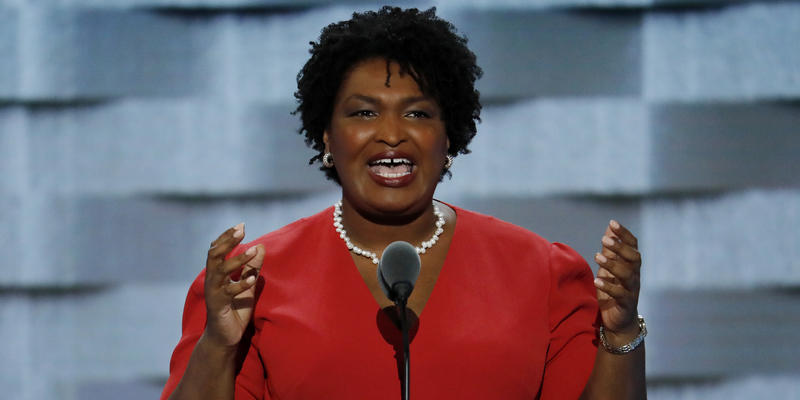 State Rep. Stacey Abrams, an attorney from Atlanta, is trying to become the nation's first female African-American governor.