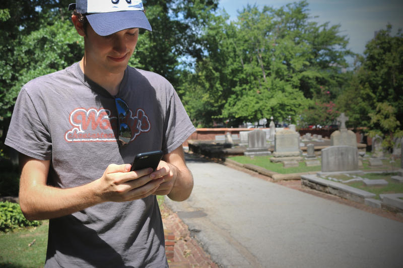 Pokemon Go at Oakland Cemetery