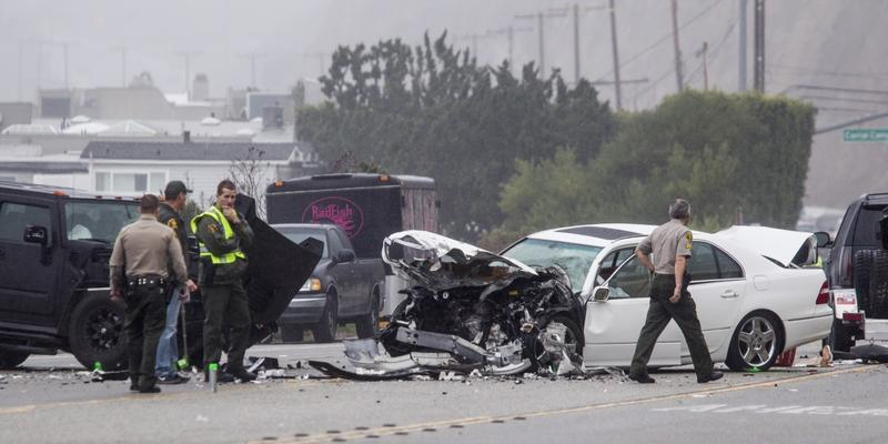 Traffic deaths surged last year as drivers racked up more miles behind the wheel than ever before, a result of an improved economy and lower gas prices, according to preliminary government data released Friday.