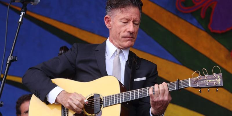 Lyle Lovett will take the stage Friday at the Atlanta Botanical Garden.