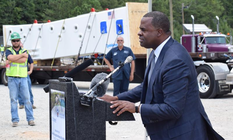 Last month, Mayor Kasim Reed announced a contest to name the city's new boring machine, which is designed to help convert the Bellwood Quarry into a large reservoir.