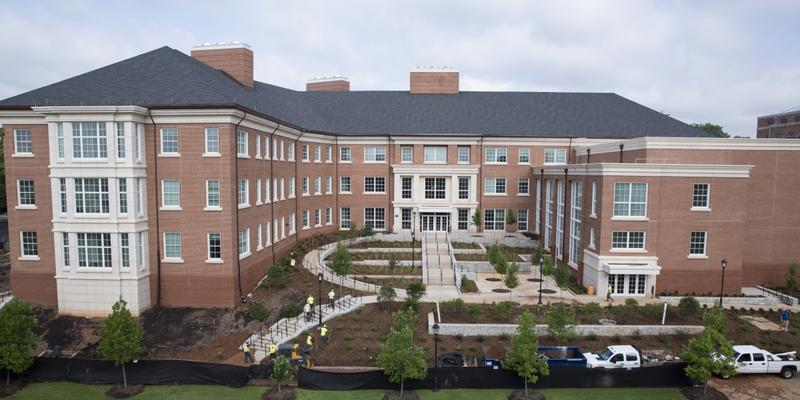 The University of Georgia's Science Learning Center cost $48 million and includes 33 labs and two 280-seat lecture halls.