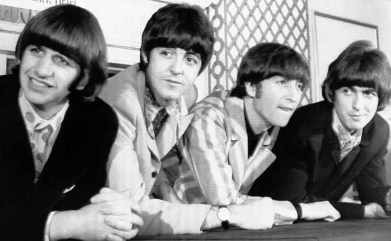 The Beatles pose for photographers during a press conference in New York on Monday, August 23, 1966. The group wound up their current U.S. tour with a concert in New York. L-R: Ringo Starr; Paul McCartney; John Lennon; and George Harrison.