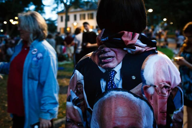 At the Democratic National Convention, Bernie Sanders supporters sported their best Bernie gear.