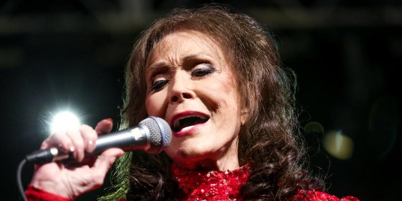 On Saturday, Loretta Lynn will be at Atlanta Botanical Garden, Gainesville.