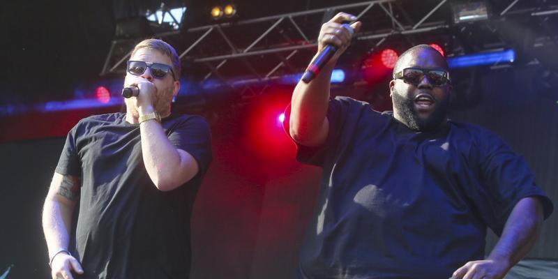 Run the Jewels are bringing their hard-hitting political rap to the Tabernacle on Saturday, Jan. 21.