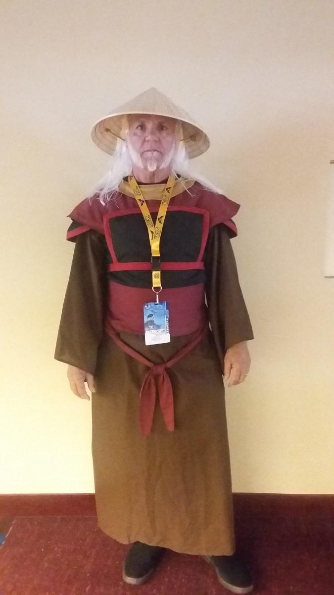 Stephanie's father as Uncle Iroh from ''Avatar: The Last Airbender.''