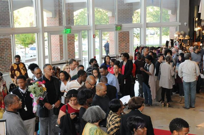 Theater goers line up for last year's Atlanta Black Theatre Festival.