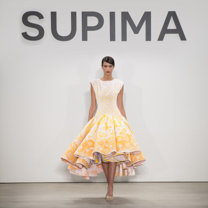 One of Taylor's dresses at New York Fashion Week
