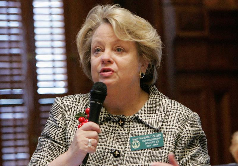 State Rep. Mary Margaret Oliver proposed a bill banning assault weapons in Georgia.