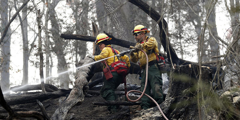 Firefighters spent more than two months battling wildfires in north Georgia and in Tennessee this fall.