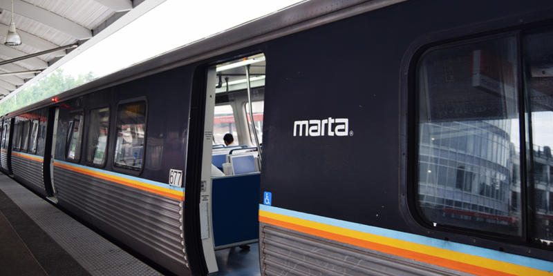 Rose Scott and Jim Burress give a news brief on MARTA CEO and General Manager Keith Parker saying that the transit system is safe after a deadly shooting aboard a West Lake train late yesterday afternoon.