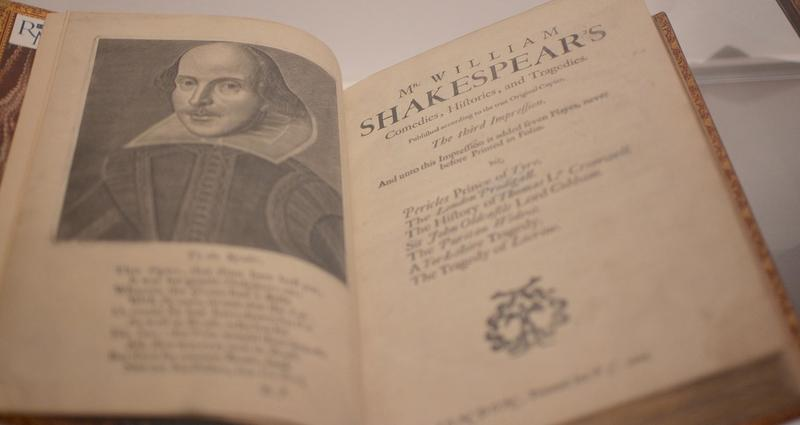 The first folio contains 36 plays, 18 of them printed for the first time.