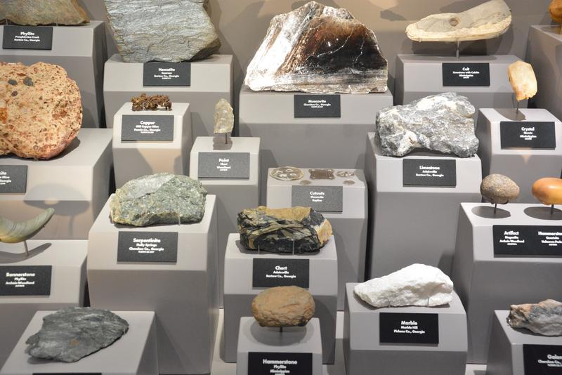 People who lived at Etowah would have used rocks and minerals like these as the raw materials for tools, pigments and even ceremonial objects.
