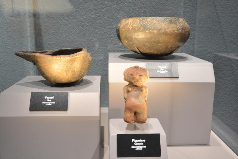 Most of the artifacts in the Tellus Science Museum's exhibit have been in storage at the Smithsonian, and have not been on display before.