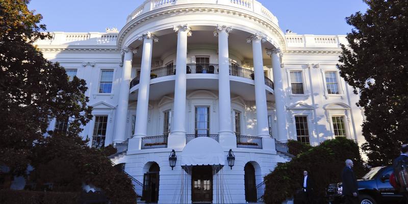 The White House as seen on Tuesday, Nov. 8, 2016 in Washington.