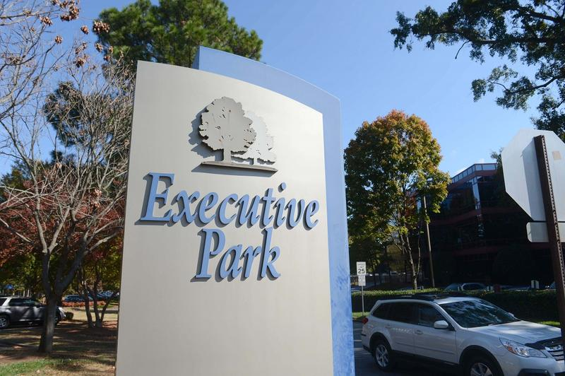 Emory University would develop a mixed-use campus on 70 acres at the south side of North Druid Hills in Executive Park.