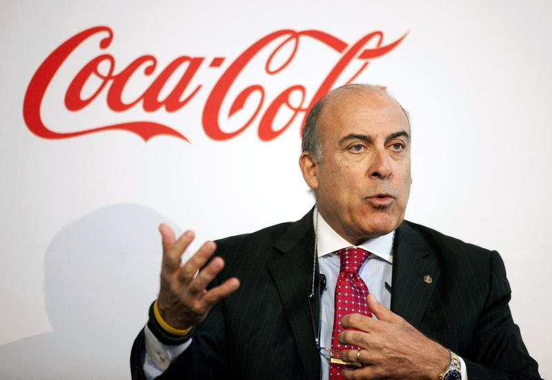 Muhtar Kent will step down as CEO of Coca-Cola next year.