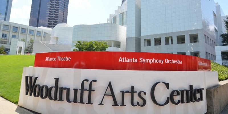The Woodruff Arts Center is home to the High Museum, the Alliance Theatre and the Atlanta Symphony Orchestra.