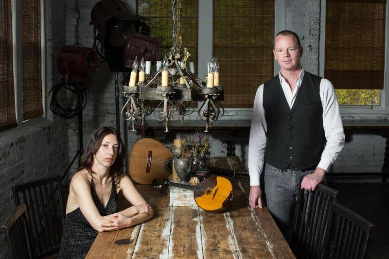 Duo 9 String Theory will play the music of Astor Piazzolla at the Red Light Café Thursday.
