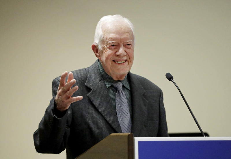 The fight against Guinea worm, which has been a focus for Jimmy Carter, has made progress in the last 30 years.
