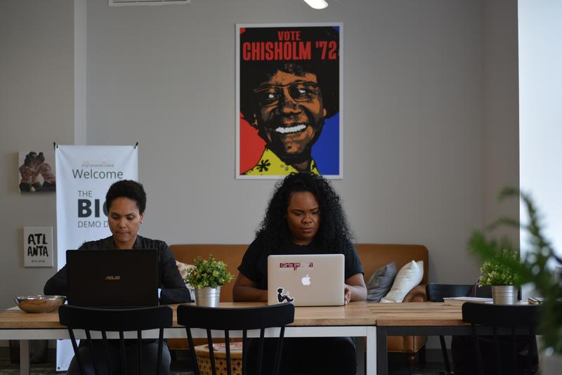 Danielle Robinson Bell and Tasha Gaye-White are helping women of color entrepreneurs at the BIG Incubator in Atlanta advance and get funded.