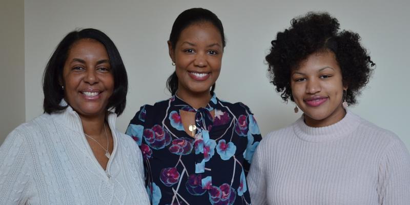 Joye Nettles, Stephanie Espy and Sandy Welfare (left to right) discuss STEM fields on Friday's ''Closer Look.''