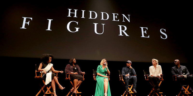 Janelle Monae, Octavia Spencer, Taraji P. Henson and Producers Pharrell Williams and Jenno Topping discuss the film ''Hidden Figures.''