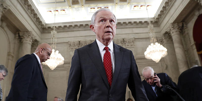 Attorney General Jeff Sessions had recently asked senior White House staff how he might patch up relations with President Donald Trump, but that effort did not go anywhere, according to a person briefed on the conversations.