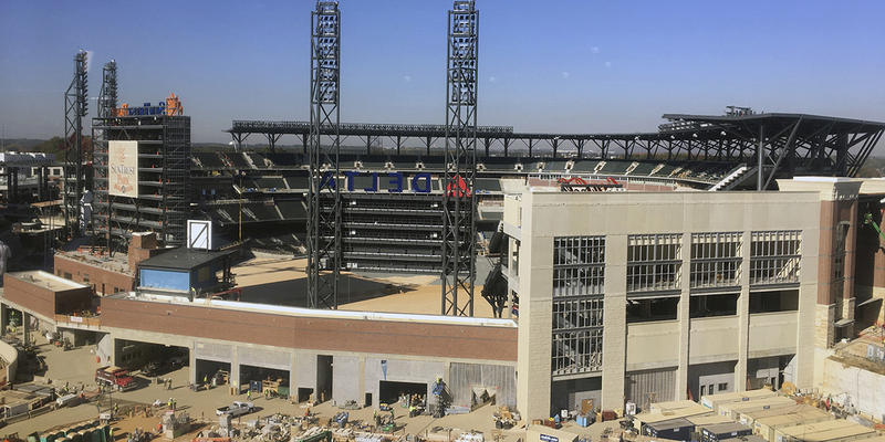 SunTrust Park will make its debut within 14 weeks.