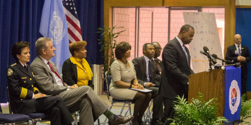 City of Atlanta Mayor Kasim Reed and the Atlanta University Center Consortium leaders announced the launch of a camera surveillance program.