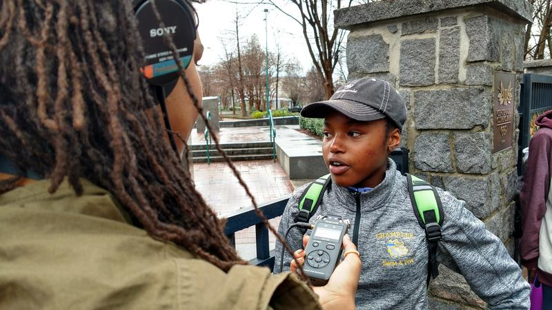 Sarah Lucas covered the Atlanta March for Social Justice and Women for VOX ATL.