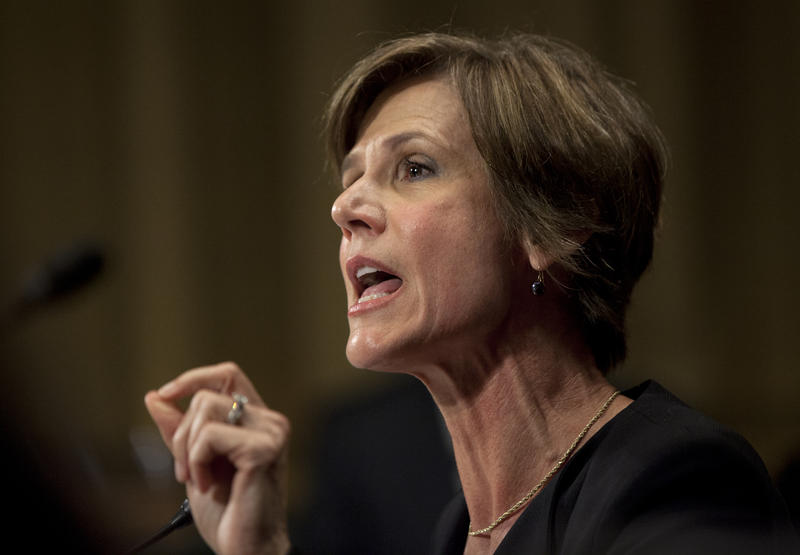 Former acting U.S. Attorney General Sally Yates warned the Trump administration about Michael Flynn's conversations with the Russian ambassador, according to a report from the Washington Post.