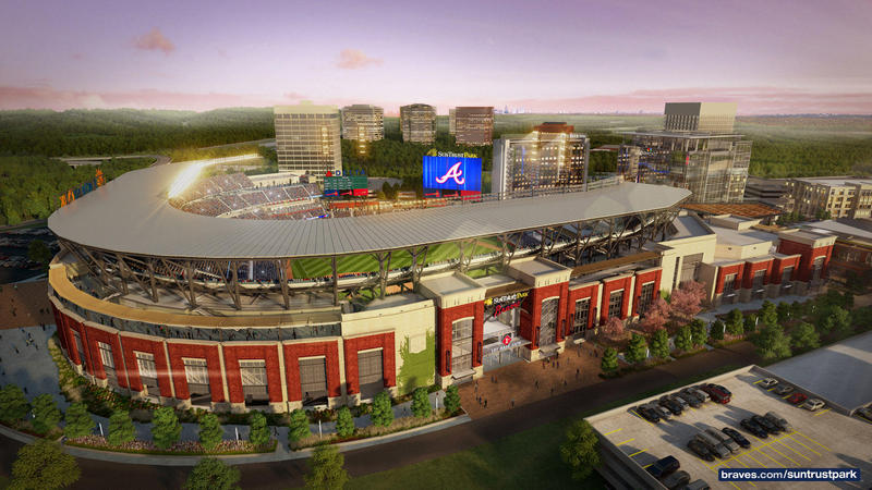 The Atlanta Braves' debut in SunTrust Park is March 31.