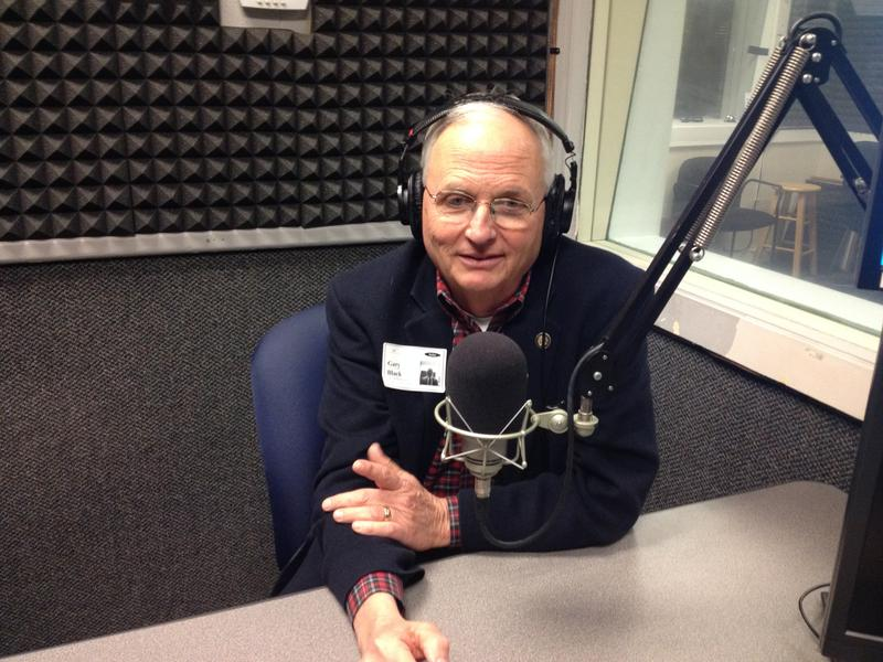 Georgia Agriculture Commissioner Gary Black, speaking with Denis O'Hayer at the WABE studios on February 17, 2017.