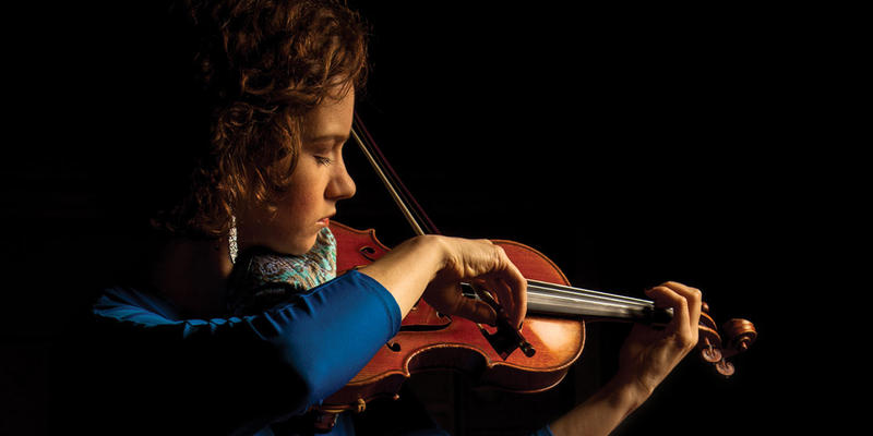 Violinist Hilary Hahn speaks with Lois Reitzes about her current tour with pianist Robert Levin, which brings them through Atlanta next month, today on ''City Lights.''