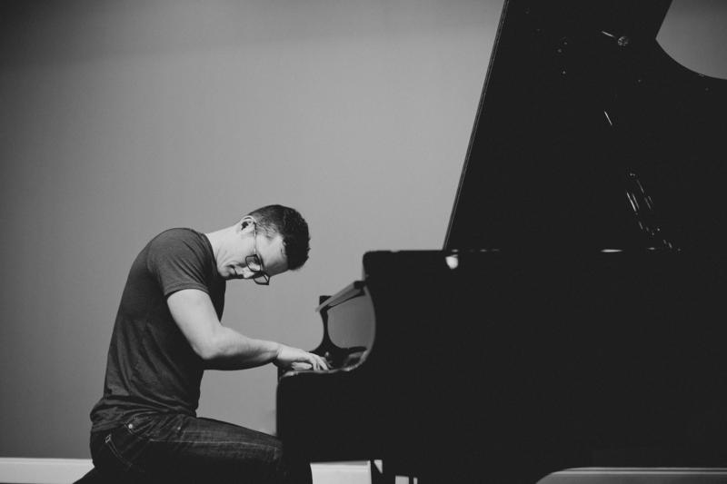 Local pianist John Burke was recently Grammy nomination in the New Age category.