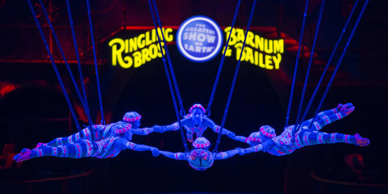 Ringling Bros. and Barnum & Bailey make their final Atlanta appearance this weekend.