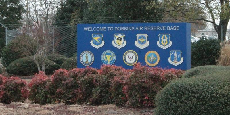 Dobbbins Air Reserve Base is located in Marietta.