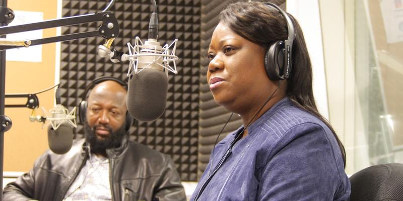 Sybrina Fulton and Tracy Martin, the mother and father of Trayvon Martin respectively, talked about their son and their new book.