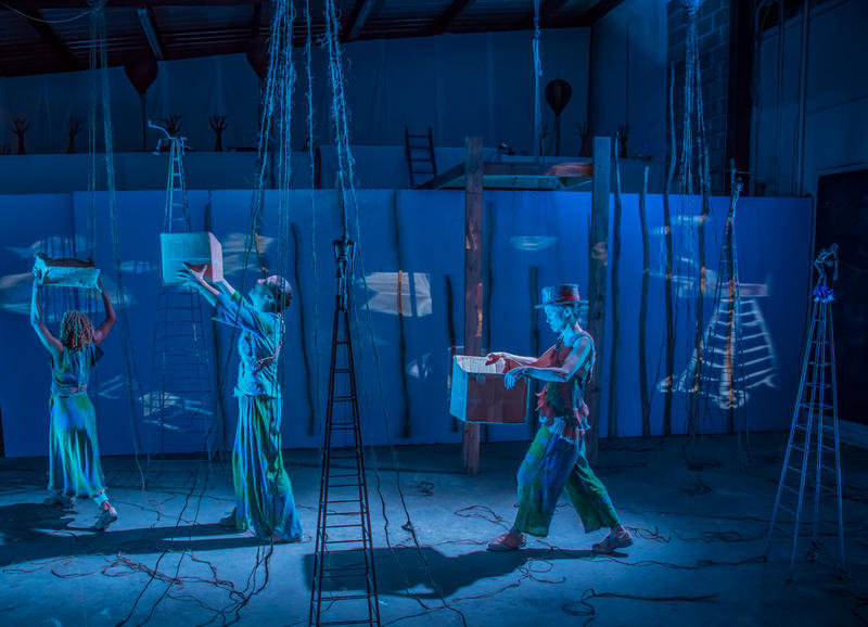 'Sea of Common Catastrophe' is a combination of theater, music and dance.