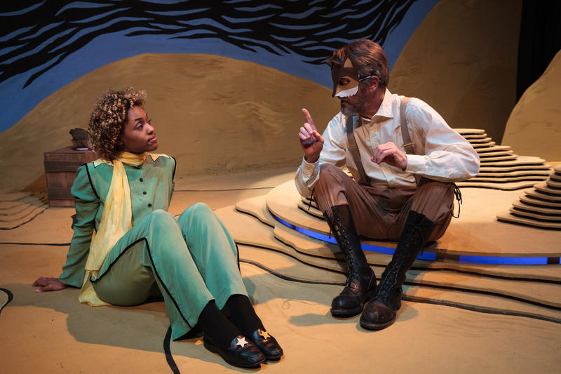 Theatre du reve brings le petit prince to the big stage for Theatre du petit miroir