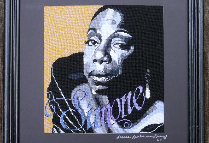 A portrait of Nina Simone