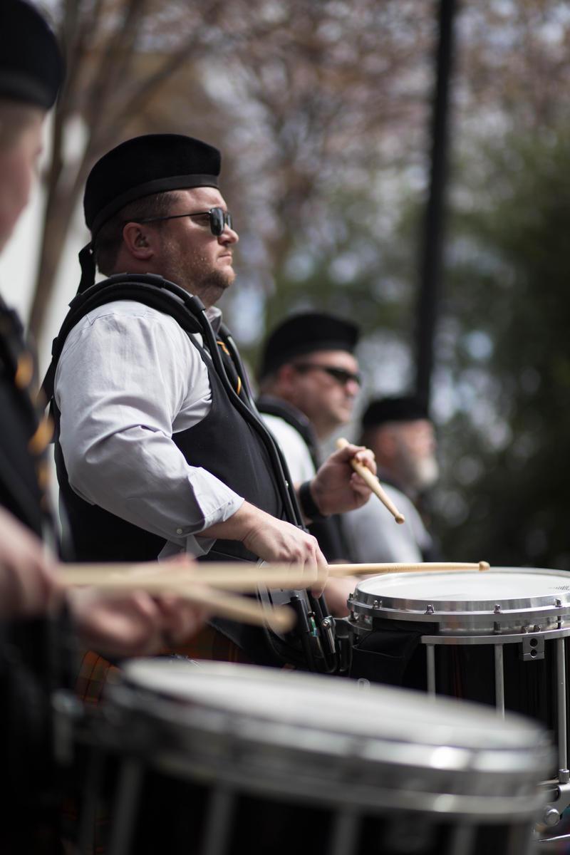 atlanta st. patrick's day parade drummers
