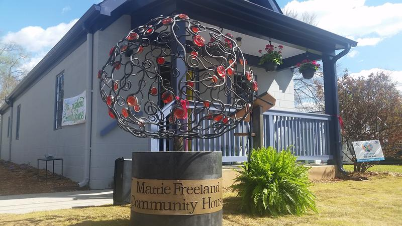 The Mattie Freeland Community House is officially open in English Avenue.