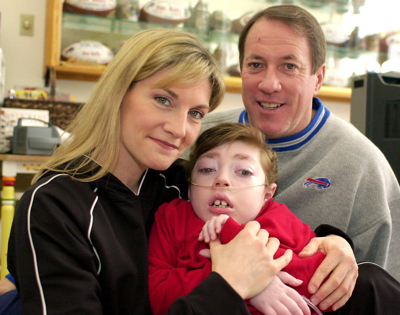 Former NFL quarterback Jim Kelly advocated for Krabbe disease screening after his son Hunter died from the rare genetic disorder at the age of eight in 2005. A bill to allow screenings for Georgia babies is being taken up in the State Senate.